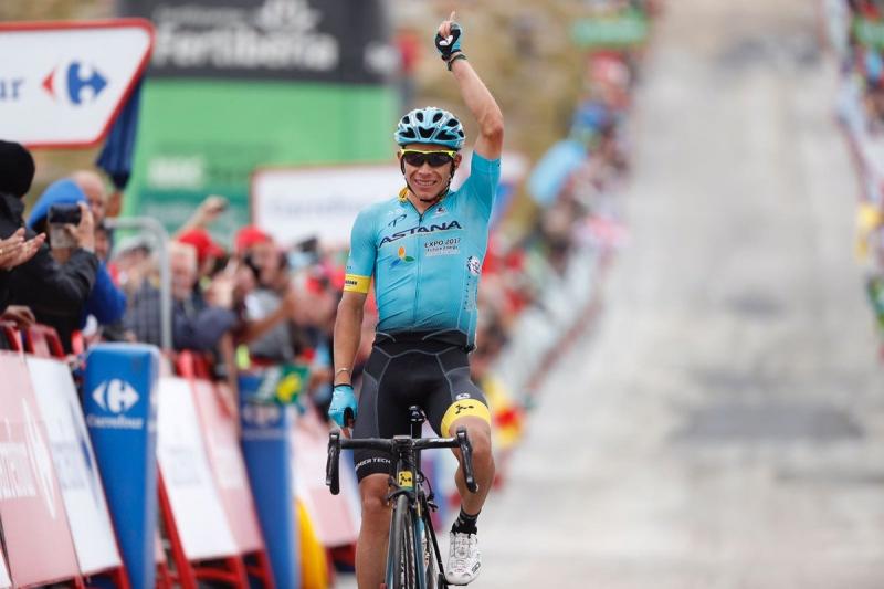 Мигель Лопес – победитель 11 этапа Вуэльты Испании-2017