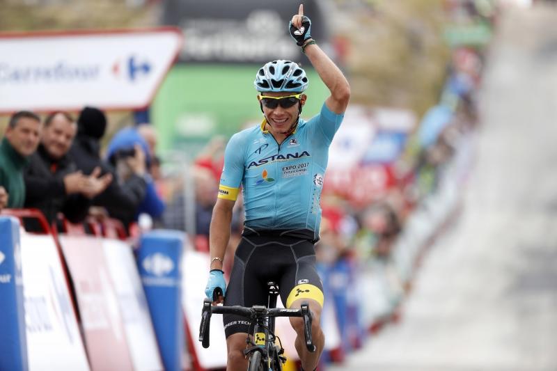 Первая победа Мигеля Анхеля Лопеса на этапах Гранд-туров