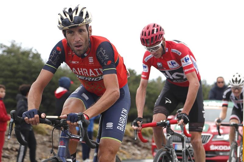 Крис Фрум, Винченцо Нибали, Альберто Контадор, Ильнур Закарин, Эстебан Чавес об 11-м этапе Вуэльты Испании-2017