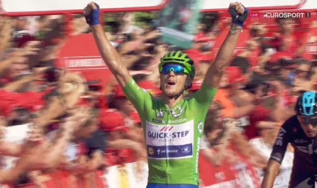 Маттео Трентин – победитель 13 этапа Вуэльты Испании-2017