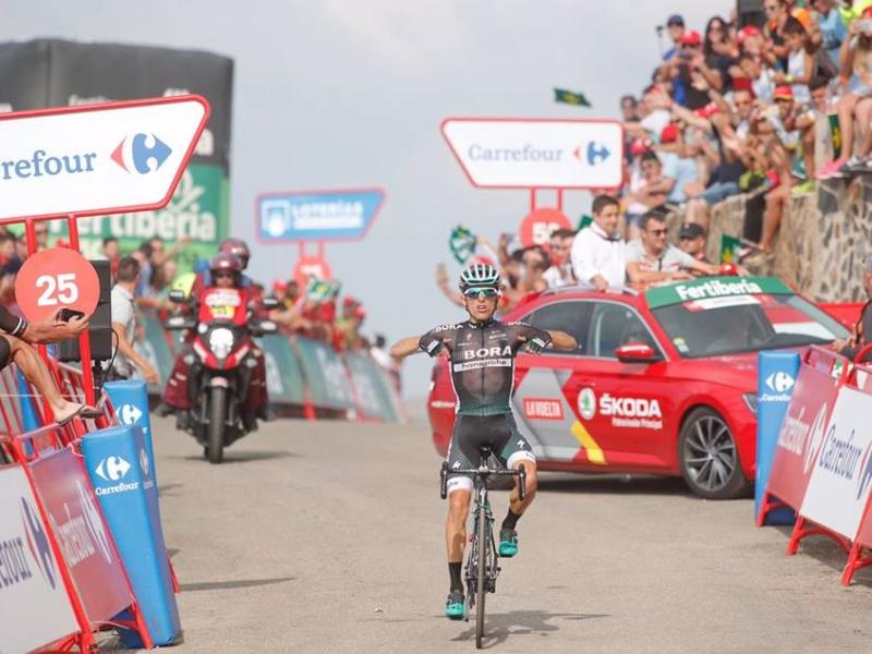 Рафал Майка – победитель 14 этапа Вуэльты Испании-2017