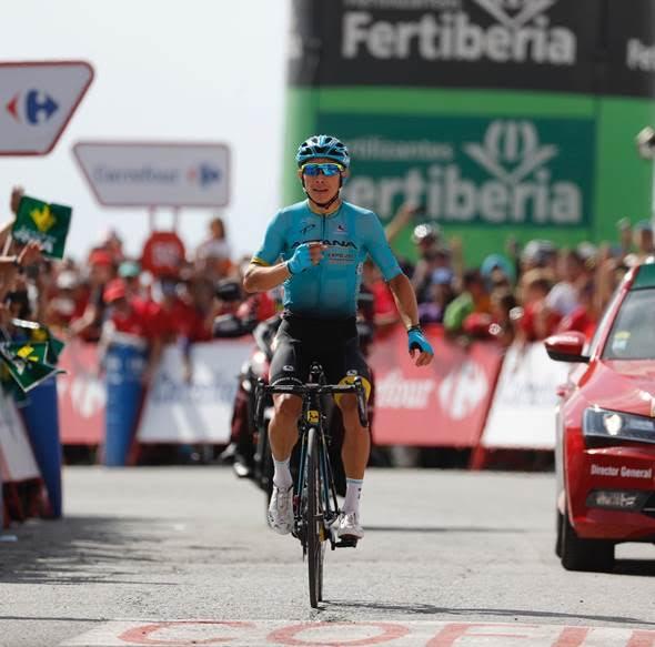 Мигель Лопес – победитель 15 этапа Вуэльты Испании-2017