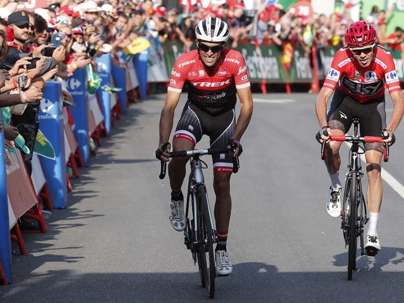 Крис Фрум и Альберто Контадор о 18-м этапе Вуэльты Испании-2017