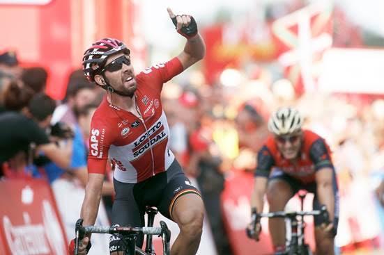 Томас Де Гендт – победитель 19 этапа Вуэльты Испании-2017