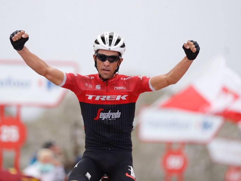 Альберто Контадор – победитель 20 этапа Вуэльты Испании-2017