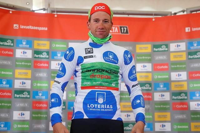 Давиде Виллелла – победитель горной классификации Вуэльты Испании-2017