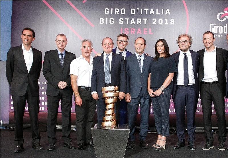 """Мауро Веньи: """"Джиро д'Италия-2018 ждёт тёплый приём в Израиле"""""""