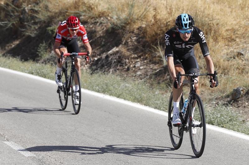 Альберто Контадор, Крис Фрум, Винченцо Нибали  о 12-м этапе Вуэльты Испании-2017