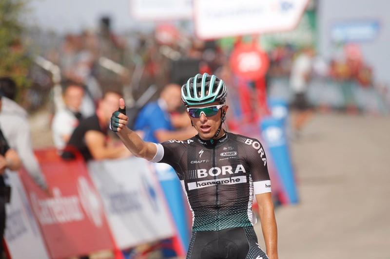 Рафал Майка о победе на 14 этапе Вуэльты Испании-2017