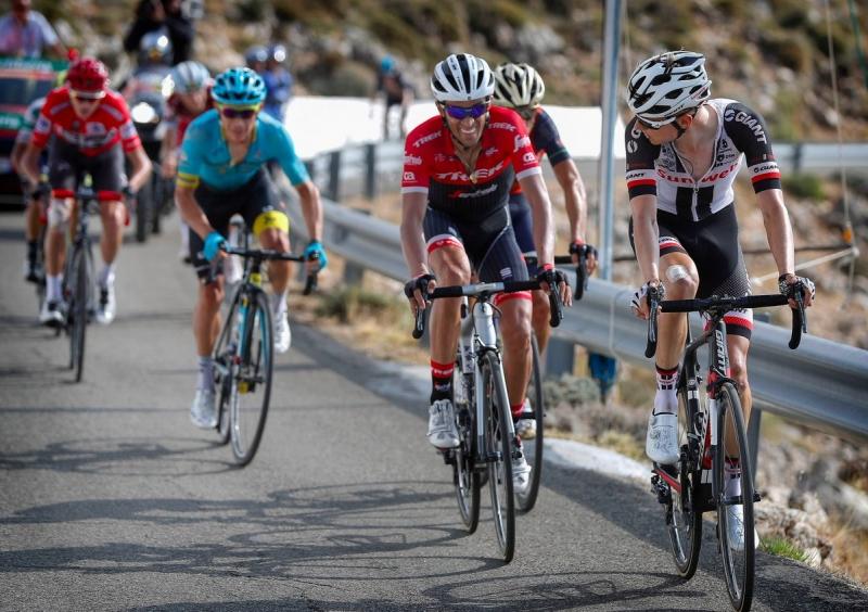 Крис Фрум, Альберто Контадор, Винченцо Нибали, Ильнур Закарин, Эстебан Чавес о 14-м этапе Вуэльты Испании-2017