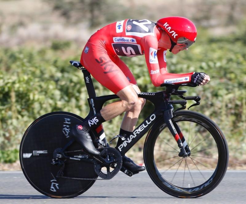 Крис Фрум – победитель 16 этапа Вуэльты Испании-2017