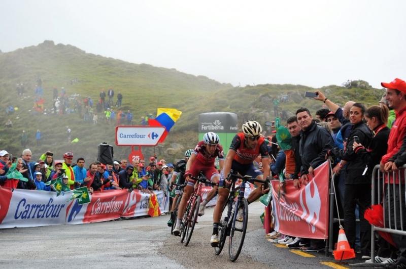 Крис Фрум, Штефан Денифл, Альберто Контадор, Мигель Лопес, Винченцо Нибали, Ильнур Закарин о 17-м этапе Вуэльты Испании-2017
