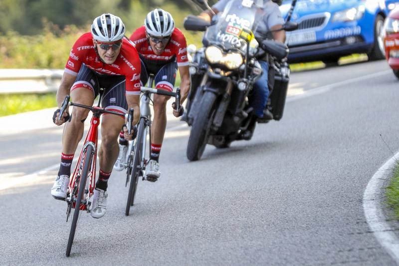 Томас Де Гендт, Альберто Контадор, Крис Фрум о 19-м этапе Вуэльты Испании-2017