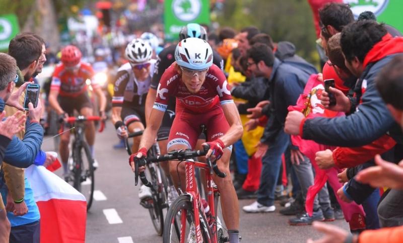 Винченцо Нибали и Ильнур Закарин в тройке лучших общего зачёта Вуэльты Испании-2017