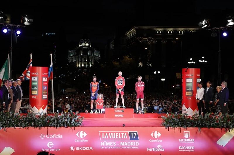 Винченцо Нибали – призёр Вуэльты Испании-2017