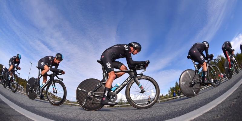 Велокоманды BMC и Sky - призёры командной гонки чемпионата мира по велоспорту-2017