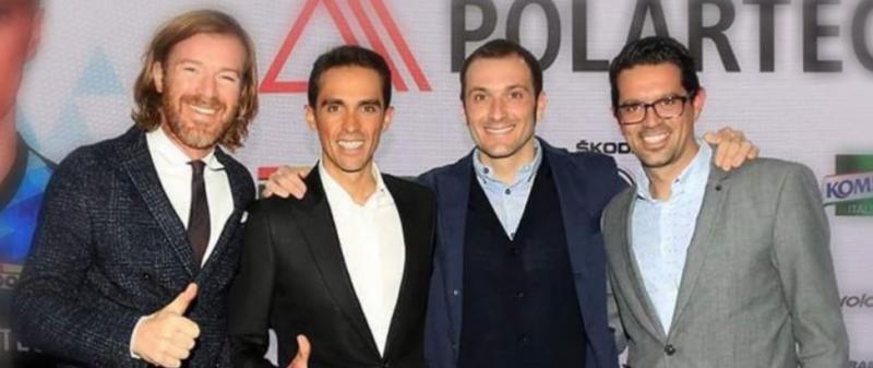 Альберто Контадор и Иван Бассо о старте Джиро д'Италия-2018 и новом совместном проекте