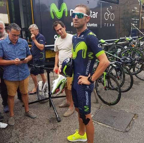 """Алехандро Вальверде: """"Джиро д'Италия, Вуэльта Испании и чемпионат мира - цели на 2018 год"""""""