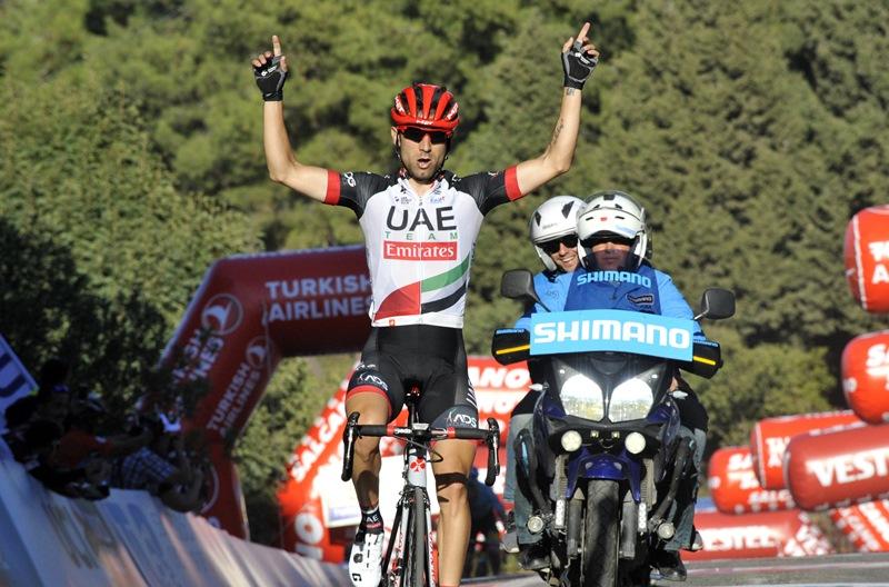 Диего Улисси – победитель 4 этапа Тура Турции-2017