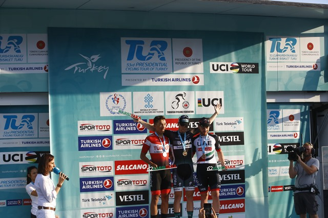 Четвёртая победа Сэма Беннетта на Туре Турции-2017