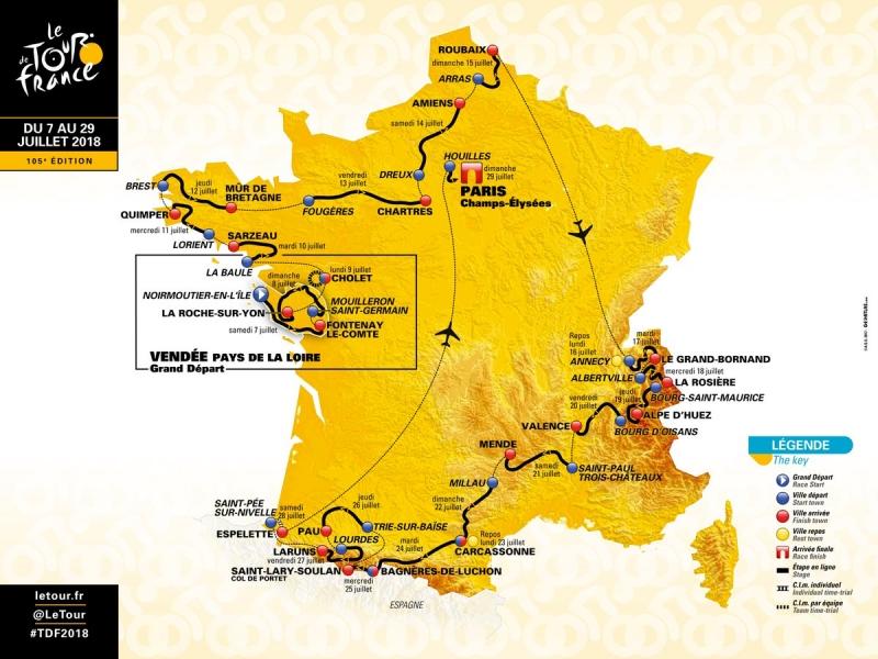 Страницы истории велоспорта: Тур де Франс - 2018