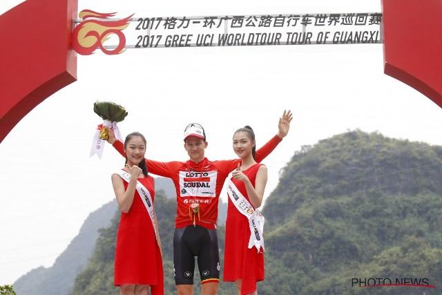 Тим Велленс – победитель 4 этапа Тура Гуанси-2017