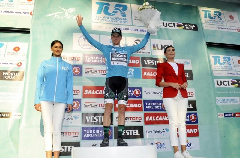 Сэм Беннетт - победитель 1 этапа  Тура Турции-2017