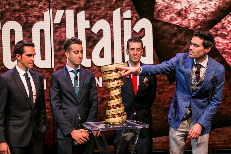 Том Дюмулин будет защищать титул победителя на Джиро д'Италия-2018