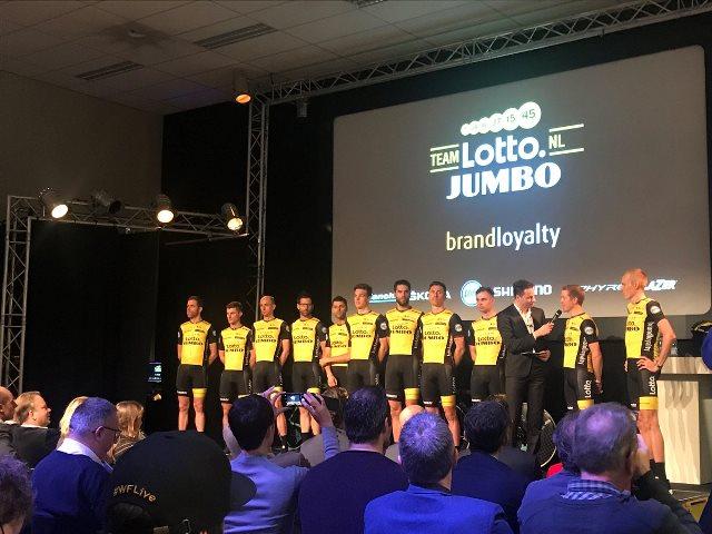 Состав команды LottoNL-Jumbo на 2018 год