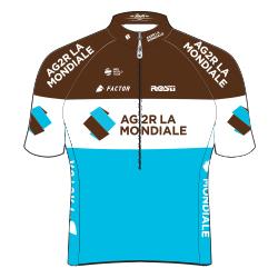 Команды Мирового Тура 2018: AG2R La Mondiale (ALM) - FRA