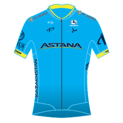 Команды Мирового Тура 2018: Astana Pro Team (AST) - KAZ