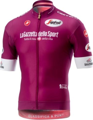 Джиро д'Италия - 2018. Цикламеновая майка. Превью