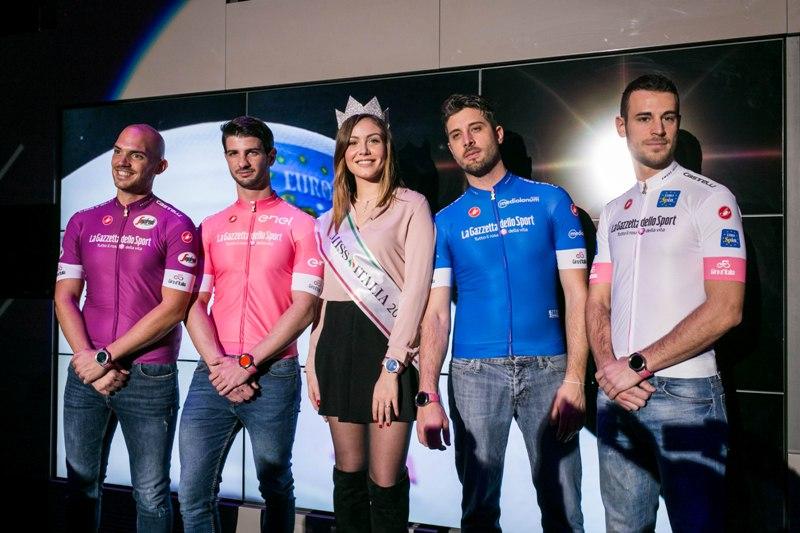 """""""Мадрина"""" и майки Джиро д'Италия-2018"""