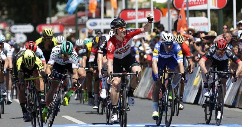 Андре Грайпель – победитель 1 этапа Тура Даун Андер-2018