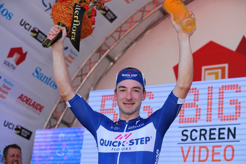 Элиа Вивиани – победитель 3 этапа Тура Даун Андер-2018