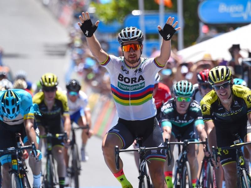 Петер Саган – победитель 4 этапа Тура Даун Андер-2018