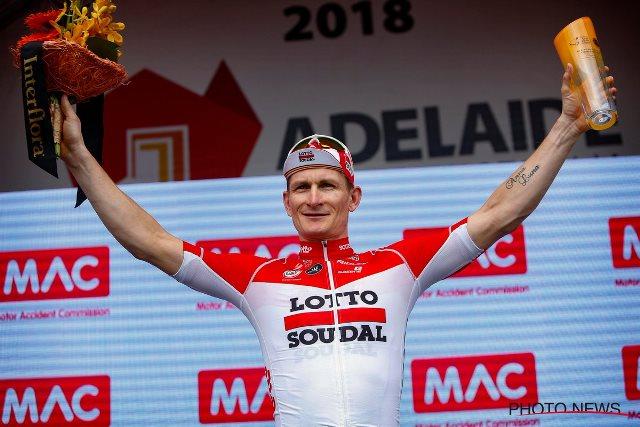 Андре Грайпель – победитель 6 этапа Тура Даун Андер-2018
