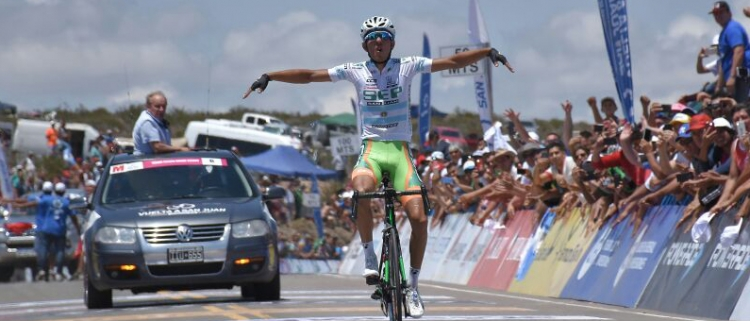 Гонсало Нахар – победитель 5 этапа Вуэльты провинции Сан-Хуан-2018