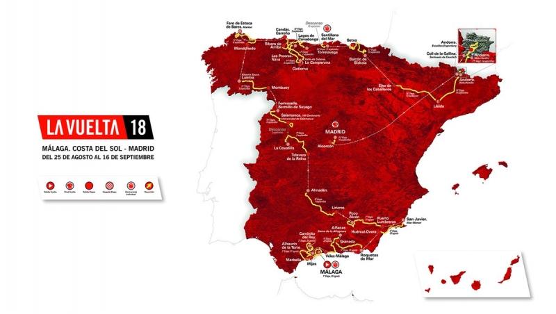 Вуэльта Испании-2018. Презентация маршрута