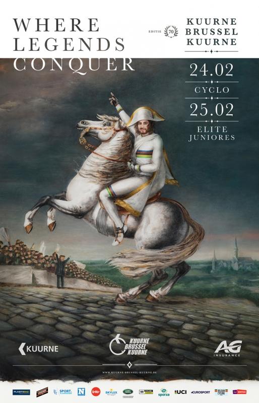 Петер Саган на постере 70-го выпуска классики Кюрне-Брюссель-Кюрне