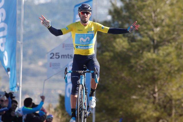 Алехандро Вальверде – победитель 4 этапа Вуэльты Валенсии-2018