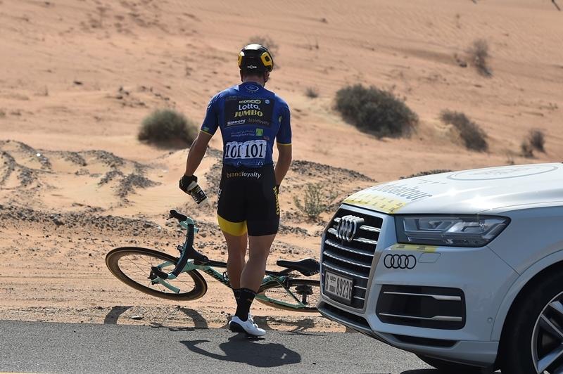 Дилан Груневеген оштрафован на 20 секунд на 3-м этапе Тура Дубая-2018