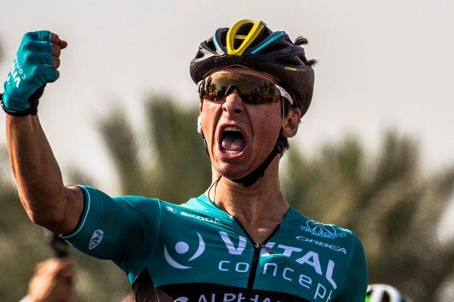 Бриан Кокар – победитель 1 этапа Тура Омана-2018