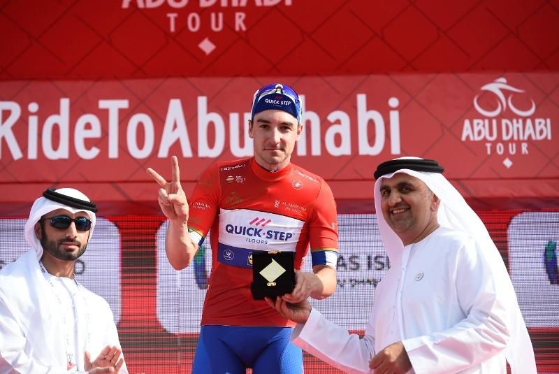 Элиа Вивиани – победитель 2 этапа Тура Абу-Даби-2018