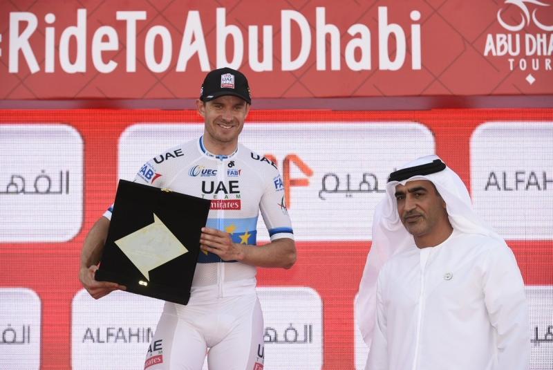 Александр Кристофф – победитель 1 этапа Тура Абу-Даби-2018