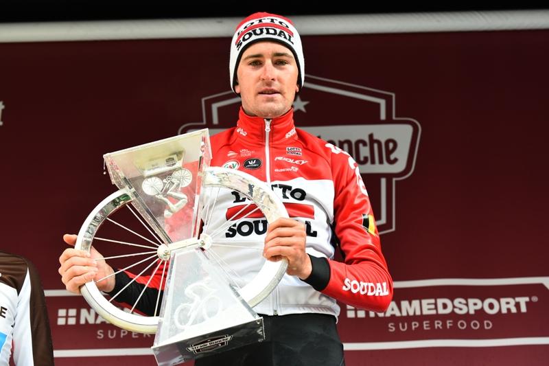 Тьеш Бенот – победитель классики Страде Бьянке-2018