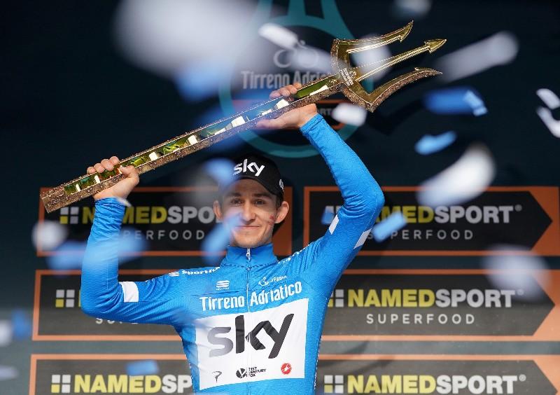 Михал Квятковский – победитель Тиррено-Адриатико-2018