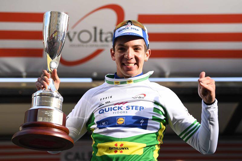 Альваро Ходег – победитель 1 этапа Вуэльты Каталонии-2018