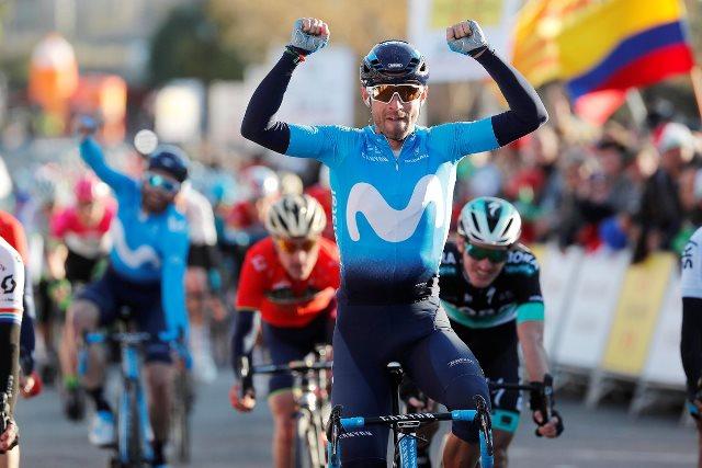 Алехандро Вальверде – победитель 2 этапа Вуэльты Каталонии-2018