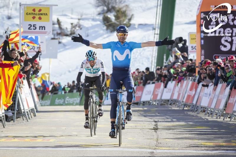 Алехандро Вальверде – победитель 4 этапа Вуэльты Каталонии-2018